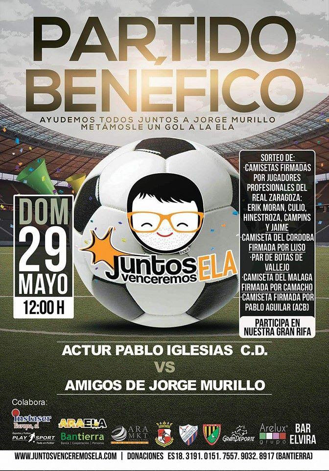 Partido homenaje Jorge Murillo