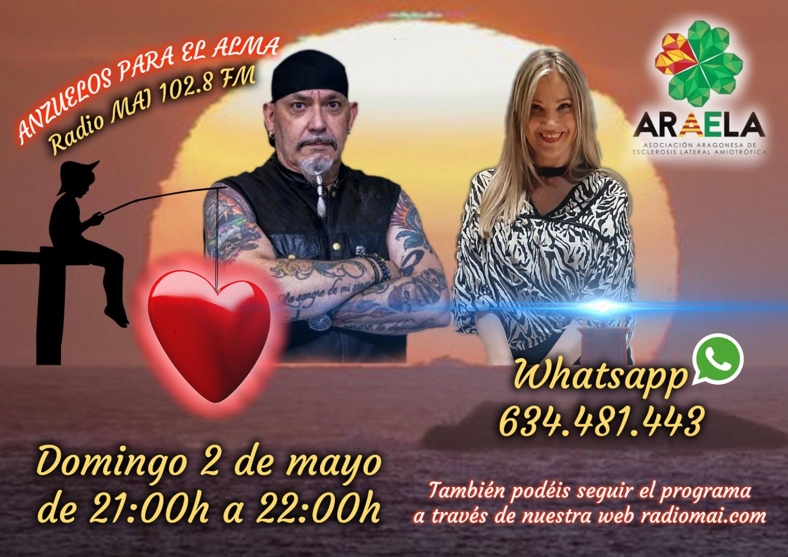ARAELA en Anzuelos para el alma