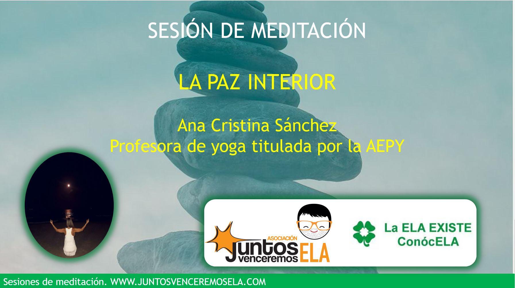 Meditación: La paz interior